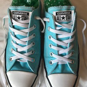 Converse All Star Tiffany Blue - Size 8